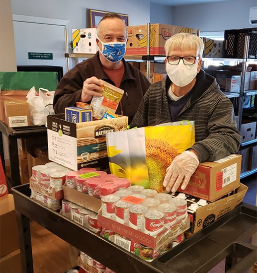 The Hope Center food pantry