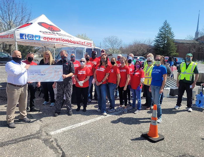 The HOPE Center hosts Operation BBQ Relief in Toms River