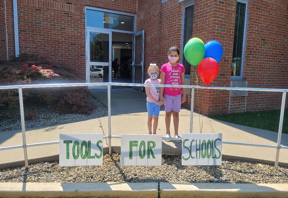 The HOPE Center in Toms River distributes Tools For School